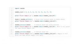 Generare numeri random in Python